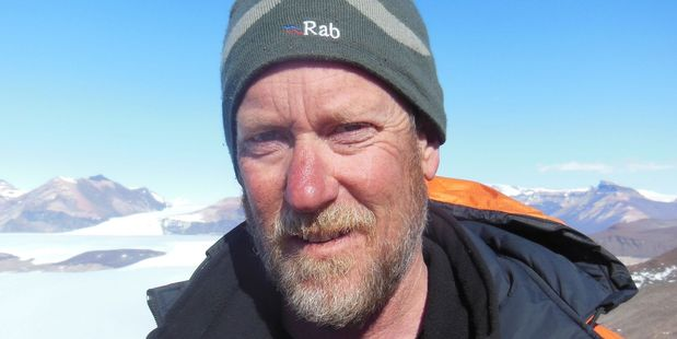 Antarctic researcher Professor Tim Naish. Photo / Supplied