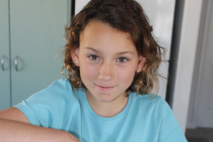 Talitha McEwan, 10, makes soaps and candles to sell at the markets and on-line. Photo/supplied