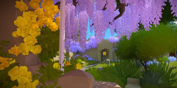 A scene from Playstation 4 game The Witness.