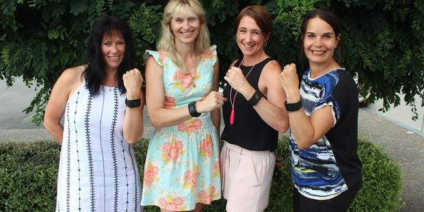 The Mad Mooloos (L-R) Verity Holmes, Toni Hamlin, Anne-Marie Case-Miller and Jen Campbell.