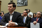Martin Shkreli, former CEO of Turing Pharmaceuticals LLC., is sworn in during a House Oversight and Government Reform Committee. Photo / Getty