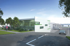 An artist's impression of the 417 East Tamaki Business Park.