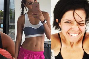 Sweat and ice cream: How to get a bikini body