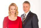 Prime News presenters Janika ter Ellen and Eric Young will now be seen in HD. Photo / Supplied