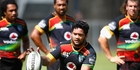 Issac Luke is set to debut for the Warriors against the Gold Coast at Toll Stadium this weekend. Photo / Getty