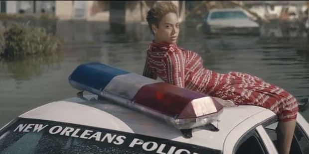 The video for Beyonce's new Track Formation, has a strong social message.