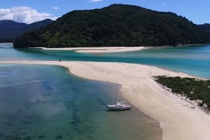 Watch: Aerial footage of $2 millon beach