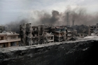 Aleppo, one of the last cities in Syria to join the uprising against President Bashar al-Assad's Government, has been largely destroyed in the latest fighting, forcing 50,000 people to flee.Photo / AP