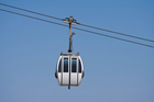 Four people stuck in cable car