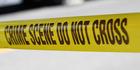 Burning car described as 'crime scene'