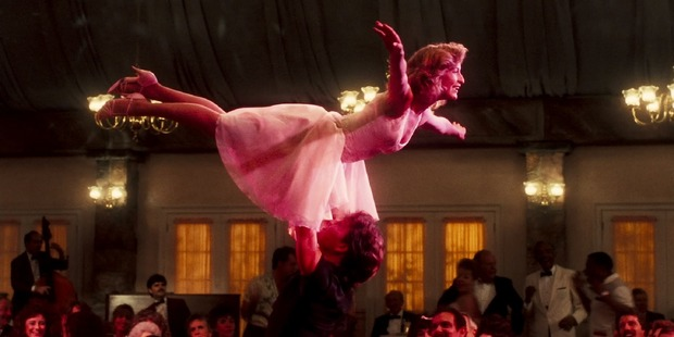 A scene from the movie, Dirty Dancing.