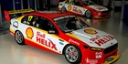 The Shell Helix sponsored DJR Team Penske V8 Falcons. Photo / Vue Images