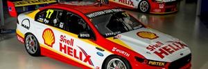 The Shell Helix sponsored DJR Team Penske V8 Falcons. Photo / Vue Images