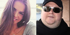 Elizabeth Donnelly and Kim Dotcom. Photos / Instagram / Getty Images