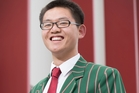 George Han did extremely well in his recent exams and is off to Harvard where he is considering studying pure mathematics. Photo / Nick Reed