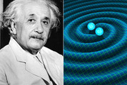 "Albert Einstein figure out these ""waves"" existed 100 years ago. Photo / Getty Images and R. Hurt/Caltech-JPL supplied via NASA"