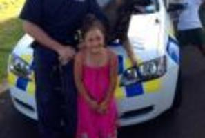 The family would like to thank the man who saved their daughter from drowning. Photo / Supplied