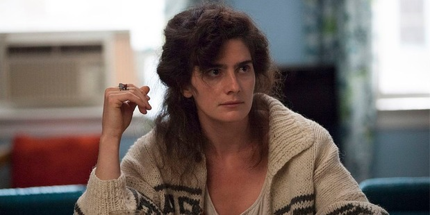 Actress Gaby Hoffmann in a scene from Girls.