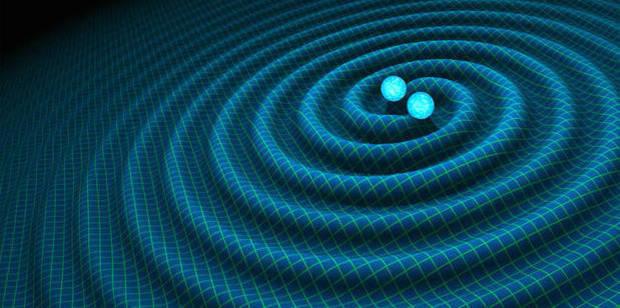 Loading An artist's impression of gravitational waves generated by binary neutron stars. Photo / R. Hurt/Caltech-JPL supplied via NASA