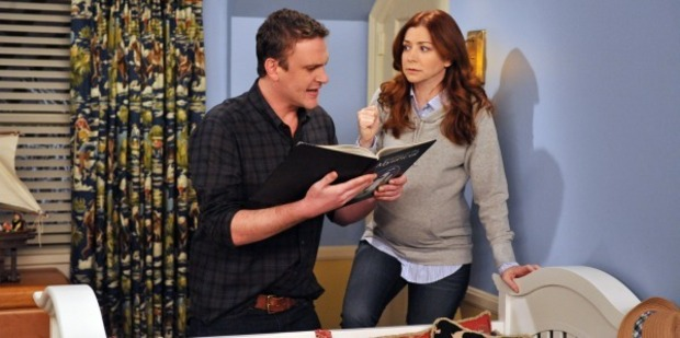Actress Alyson Hannigan in a scene from How I Met Your Mother.