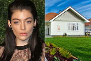 Lorde, left, and the house her music video producer on Royals bought in north Auckland for a record-breaking $1.6 million last June. Photos / Getty Images / Supplied