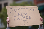 Tamir was fatally shot by Officer Timothy Loehmann at an outdoor recreation center on November 22, 2014. Photo / Getty Images
