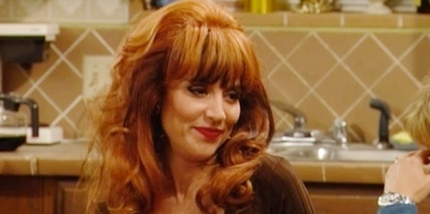 Actress Katey Sagal in Married With Children.