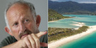 Gareth Morgan has offered to top up the fund for Abel Tasman beach but says he wants something in return - exclusive access for his family.