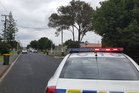 The scene at Alma Crescent Papakura, from the intersection with Old Wairoa Rd. Photo / Patrice Dougan