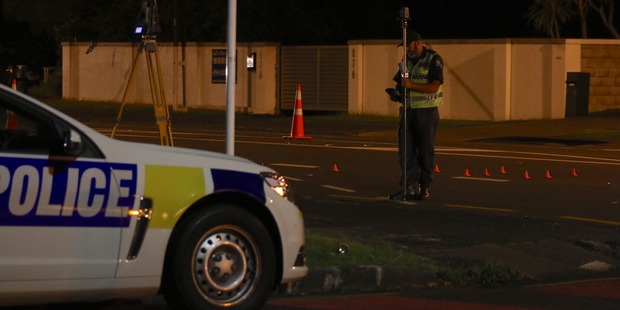 The Police Serious Crash Unit is investigating after a pedestrian was seriously injured on Dominion Rd. Photo / Supplied