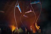 An image from Cirque du Soleil Quidam.