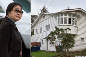 Yong Xin Chen was ordered to pay almost $120,000 repair costs to the house she abandoned (pictured). Photo / NZ Herald