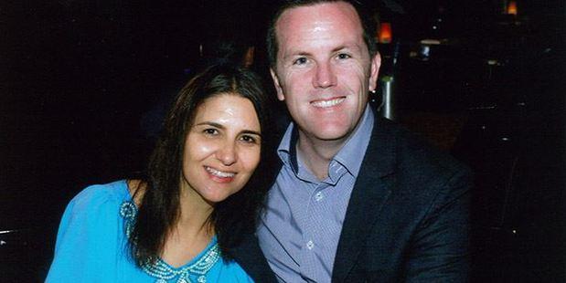 Rachel Trimble and Simon O'Connor. Photo / Supplied