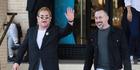 Elton John defends 'controlling' husband