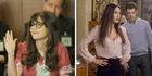 Jess (a pregnant Zooey Deschanel) attends jury duty and Reagan (Megan Fox) moves in. Photo / Ray Mickshaw, Fox