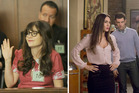 Jess (a pregnant Zooey Deschanel) attends jury duty and Reagan (Megan Fox) moves in. Photo / Ray Mickshaw, Fox