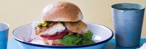 Spicy fish shack sandwiches