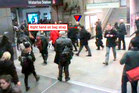 Mr Pearson seen on CCTV footage recorded at Waterloo Underground Station.