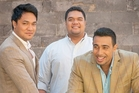 Opera group Sol3 Mio, comprising Amitai Pati (left), Pene Pati and Moses Mackay, will bring their trademark Samoan charisma to Napier next month.