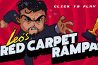 A scene from the game Leo's Red Carpet Rampage.