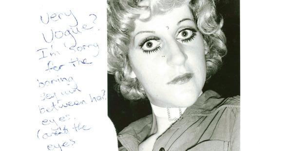 Tina at gay lib dance, 1974. Photo / Fiona Clark