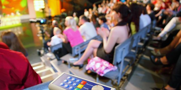 Being part of a studio audience offers a great sneak peek behind the scenes of your favourite shows. Photo / 123RF