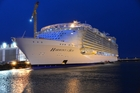 Harmony of the Sea takes her maiden voyage in just eight weeks. Photo / Supplied