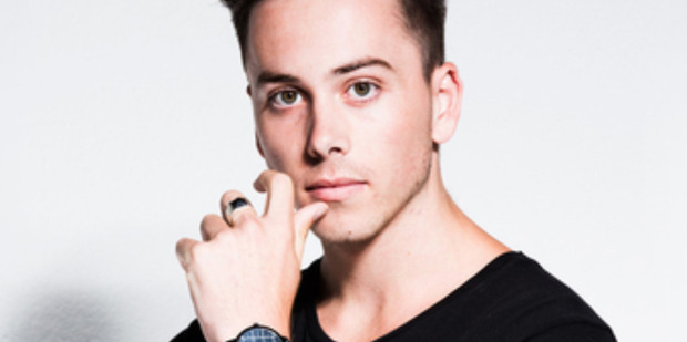 Max Key debuted his first single on Tuesday night, but a Christchurch radio station won't be playing it.
