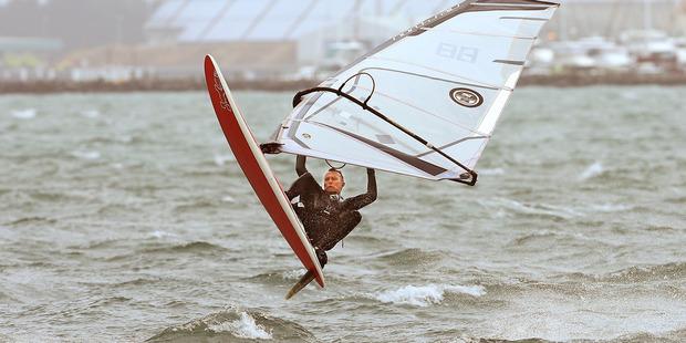 Windsurfer in Kulim Park. Photo/John Borren
