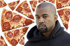 Pizza Hut has offered Kanye West a job after the rap star revealed how much money he spent making his latest album. Photo / AP, iStock