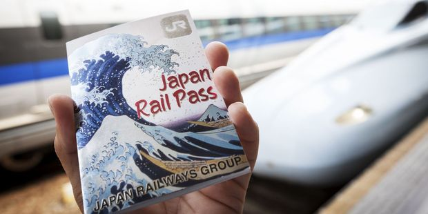 A rail pass can be purchased outside of Japan. Photo / 123RF