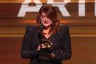Singer Meghan Trainor burst into tears when she won the Grammy for Best New Artist.