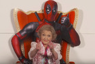 Actress Betty White reviews the movie Deadpool.