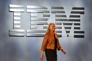 Virginia Rometty, chief executive officer of International Business Machines. Photo / Bloomberg